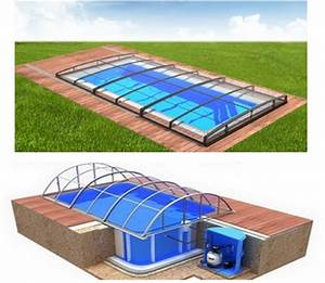 Pool Mit überdachung : pool komplettset albixon quattro a infinity evo mit ~ Michelbontemps.com Haus und Dekorationen