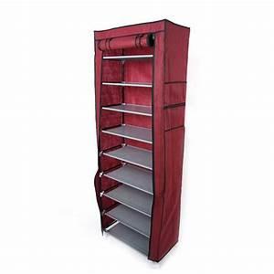 Rebrilliant, 10, Layer, 9, Grid, Shoe, Rack, Shelf, Storage, Closet, Boot, Organizer, Cabinet, Portable, Multi
