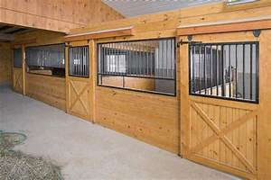 standard horse stalls covered hardware barn style With covered horse stalls