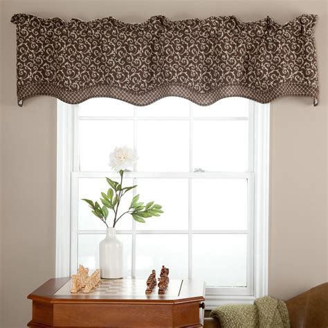 contemporary kitchen curtains and valances modern valance for kitchen roselawnlutheran 8313