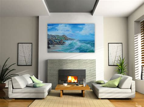artwork  living room elegant fabulous modern paintings