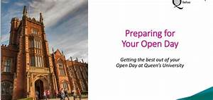 Preparing for your visit to Queens, Thursday 7th September ...
