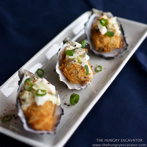 fried oysters the hungry excavator kaki fry deep fried panko oysters and chawanmushi recipe