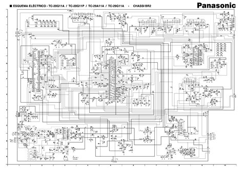 panasonic br2 chassis tc20g11a tv d service manual schematics eeprom repair info for