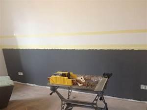 utiliser deux couleurs pour peindre sa chambre comment With repeindre sur de la peinture