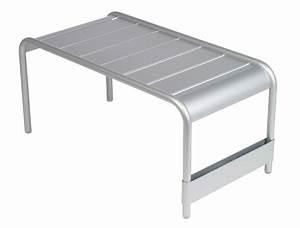Table Basse Jardin Metal : grande table basse luxembourg fermob design alu en couleurs pour l 39 ext rieur ~ Teatrodelosmanantiales.com Idées de Décoration