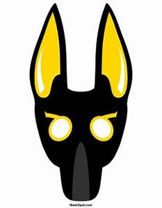 25 best ideas about anubis mask on pinterest dinosaur With egyptian masks templates