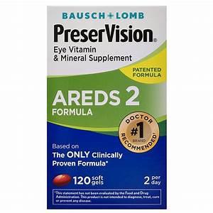 Preservision Areds 2 Formula Eye Vitamin  U0026 Mineral Supplement Softgels