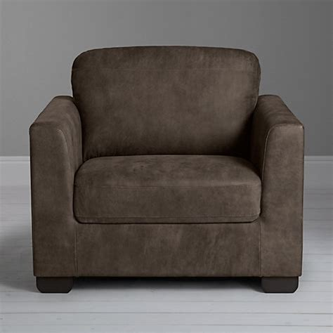 Buy Leather Armchair by Buy Lewis Cooper Leather Armchair With Legs