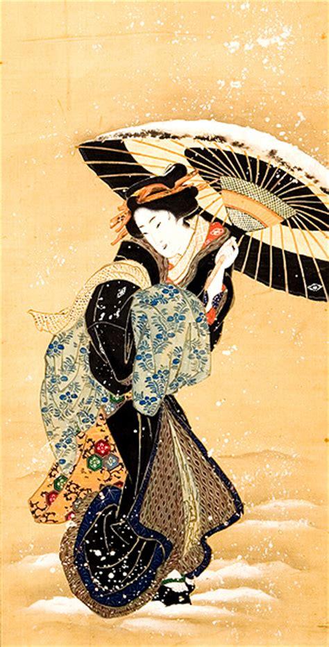 goldene impressionen japanische malerei