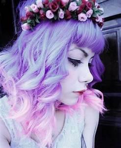 Purple to pink dip dyed hair | Dyed Hair & Pastel Hair ...