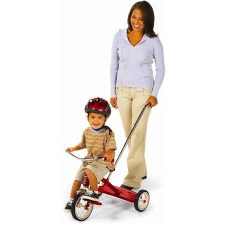 radio flyer tricycle  push handle walmartcom