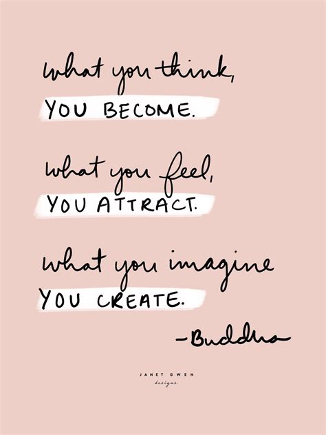 attract  create buddha quotes rose