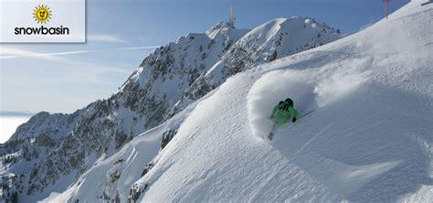ski utah snowbasin resort