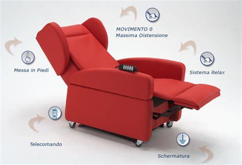 Poltrona Relax Con Maniglione E Ruote-sistema Sollevamento
