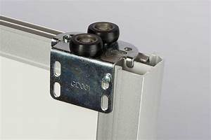 kit porte de placard coulissante tout inclus centimetrecom With guide porte de placard