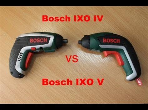 bosch ixo bohraufsatz bosch ixo v vs bosch ixo iv обзор и сравнение