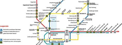 U Bahn Karte Hamburg