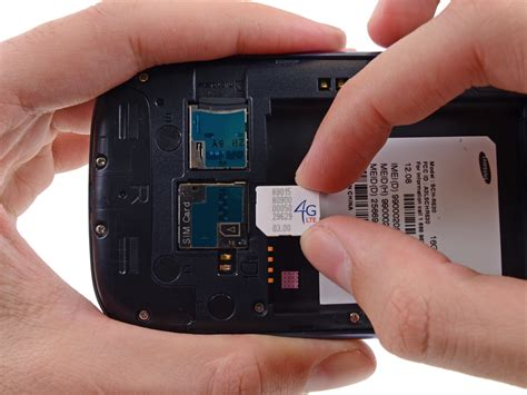 samsung galaxy  iii sim card replacement ifixit repair