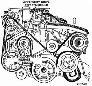 Need A Diagram Of Serpentine Belt Routing For 95 Dodge