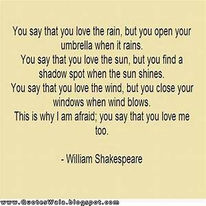 Shakespeare Love Quotes | Daily Quotes at QuotesWala