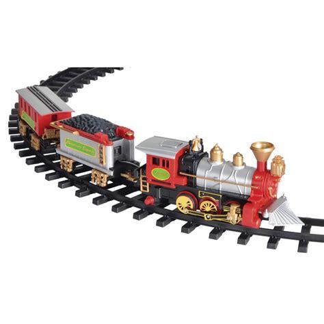 christmas tree train set