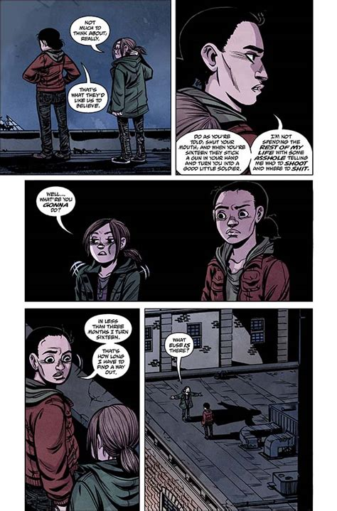 The Last Of Us American Dreams 2 Profile Dark