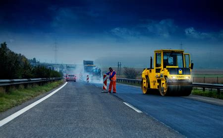 road construction  entertainment background