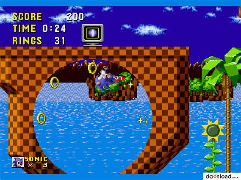 sonic  hedgehog  arcade