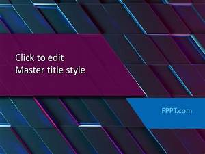 Free Modern Background Powerpoint Template