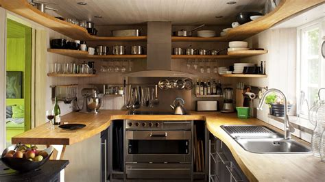 clever storage ideas  small kitchens organisation