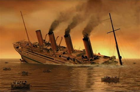 Sinking Of The Hmhs Britannic sinking of the britannic by 121199 on deviantart
