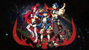 Gurren Lagann Wallpaper by meanhonkey1980 on DeviantArt