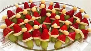 Santa hat fruit kebabs recipe - 9kitchen