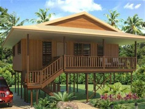 Tropical Beach House Plans Small Beach House Plans, Wooden