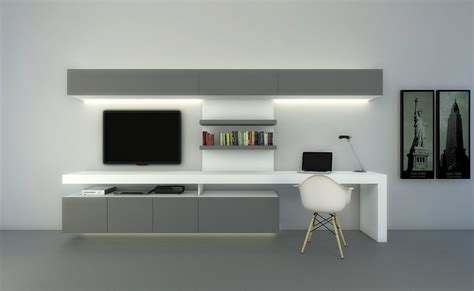 wall unit with desk and tv modulus composicion tv con escritorio www modulus com ar