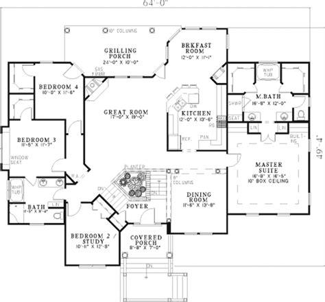 ranch style floor plans with basement baskin farm split level home plan 055d 0450 house plans