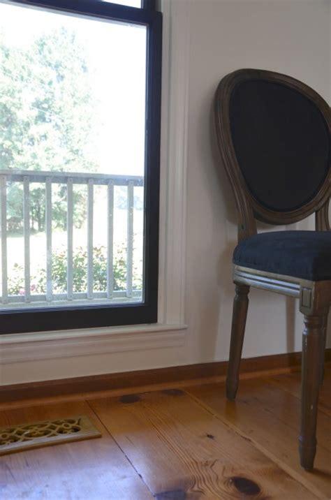 diy black window frames