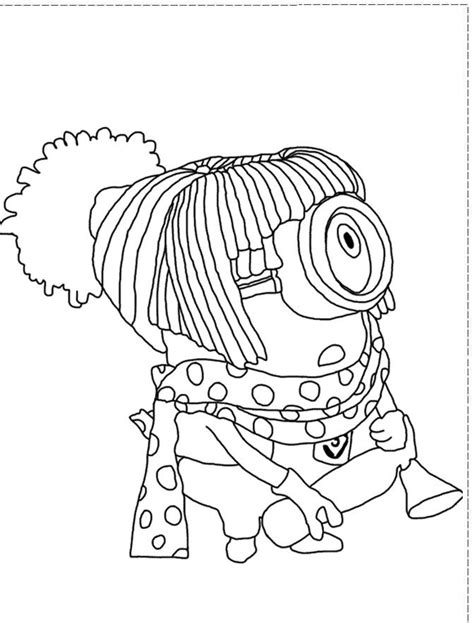 Dress Up Coloring Sheets Coloring Page Stuart Dress Up Coloring Pages Despicable Me Coloring