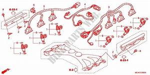 Injector For Honda Gl 1800 Gold Wing Abs Airbag 2012
