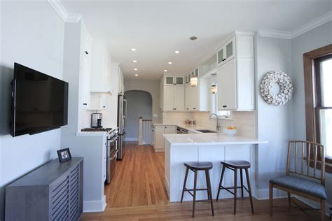 cheerful park hill bungalow kitchen to start the day