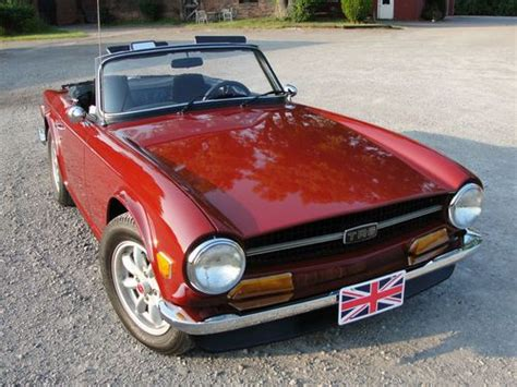 Buy Used 1971 Triumph Tr6 With Overdrive/tvr/group44