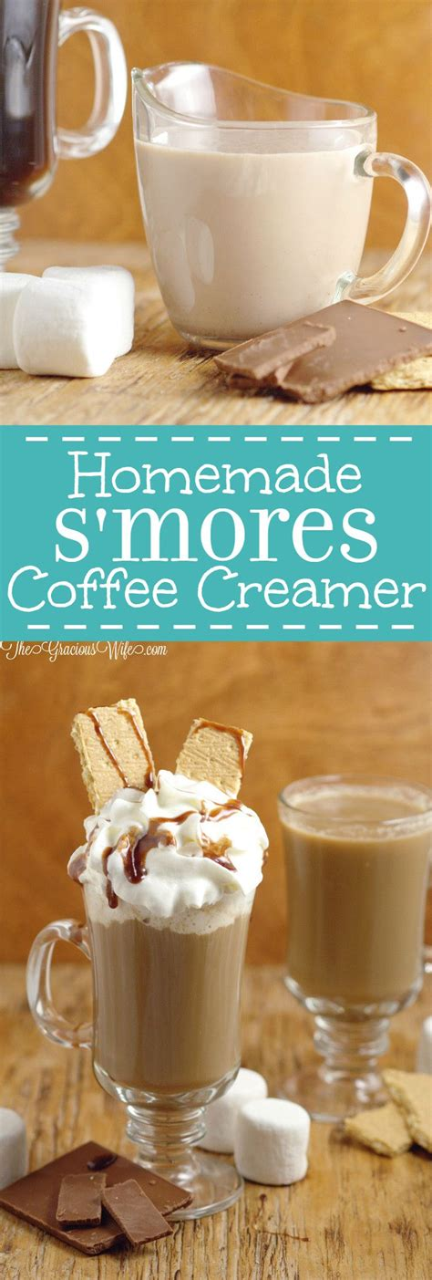 View top rated coffee creamer recipes with ratings and reviews. Homemade S'mores Coffee Creamer Recipe | The Gracious Wife