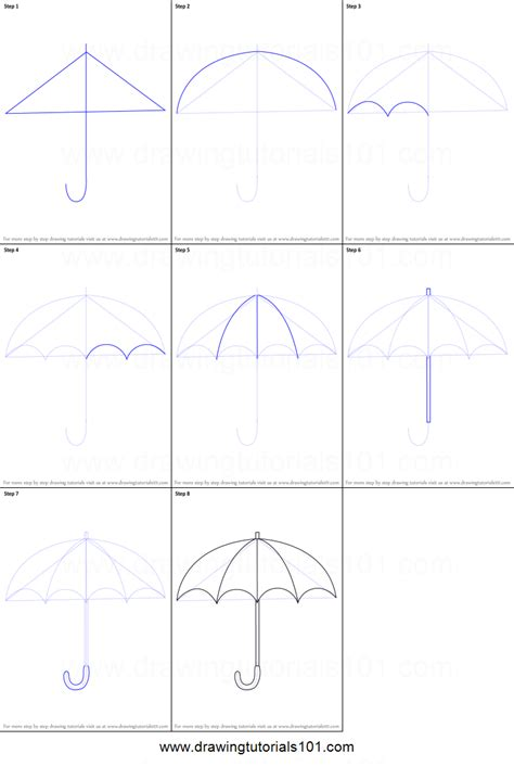 draw umbrella step 2 how to draw a japanese anime