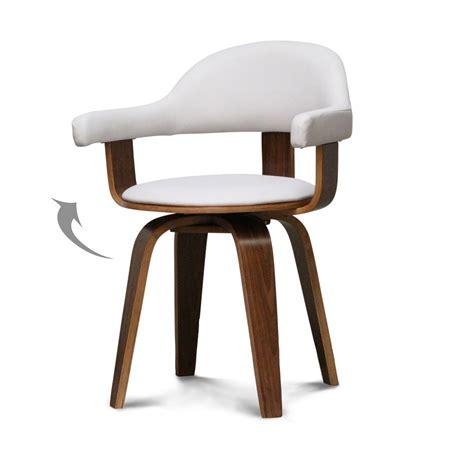 chaise blanche bois chaise cuir bois