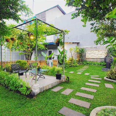 gambar teras rumah  taman desain rumah