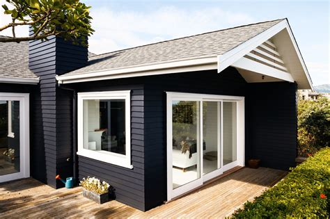 result for exterior colour trends 2017 new zealand black exterior homes weatherboard