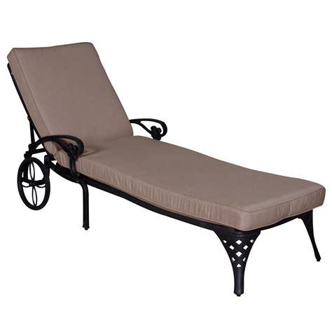 la chaise california outdoor designs la jolla chaise lounge with