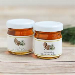 personalized wedding honey jars With custom honey jars