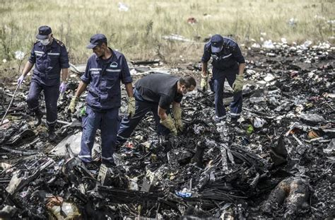 Malaysia airlines flight 17 (mh17) was a scheduled passenger flight from amsterdam to kuala lumpur that was shot down on 17 july 2014 while flying over eastern ukraine. Possible many more MH17 bodies with wreckage: Australia PM